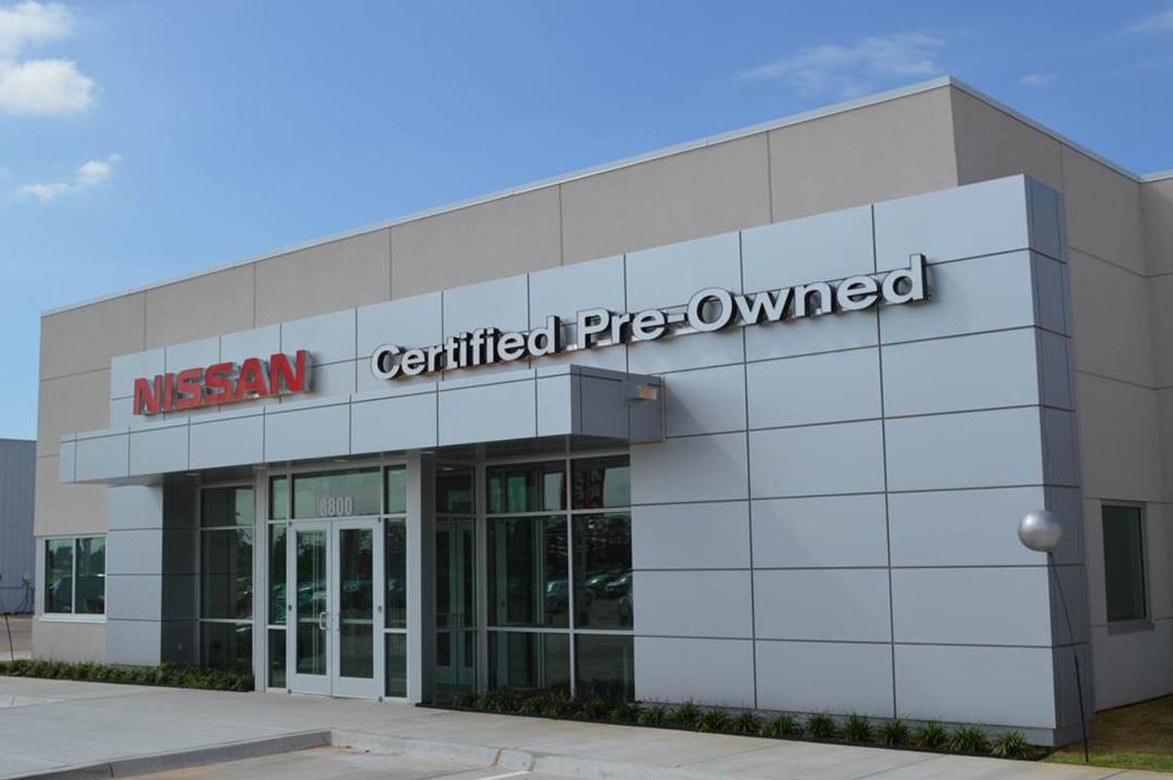 Fenton Nissan - AC Owen Construction in Oklahoma City and Tulsa