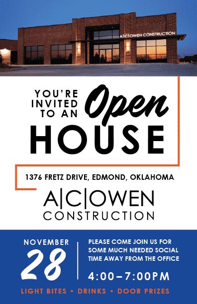 Open House November 28, 2018